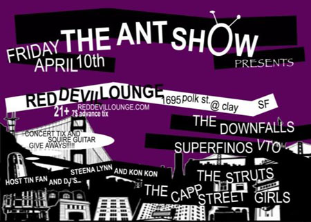 Ant Show flyer