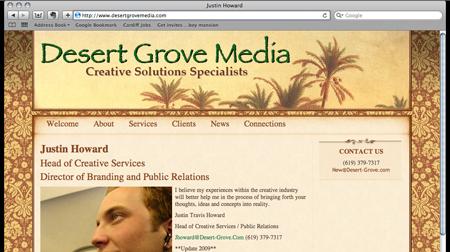 Desert Grove Media mockup