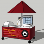 Pretzel Cart design 1