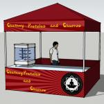 Pretzel Tent design
